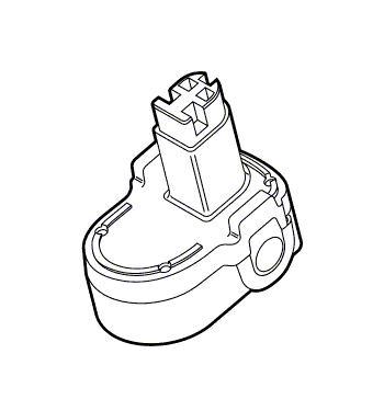Batterij 14,4V / 1,25 Ah (2590, 2592, 2599, 2850)