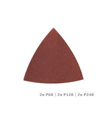 DREMEL® Multi-Max schuurpapier voor hout (P60, P120 en P240) (MM70W)