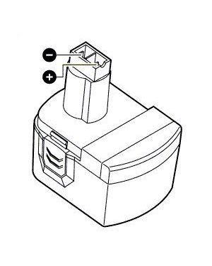 Batterij 14,4V, NiCd (2007)