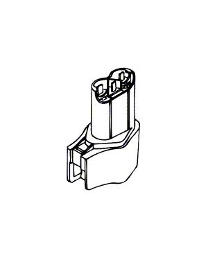 Batterij 9,6 V (2375 U1, 2400 U1)